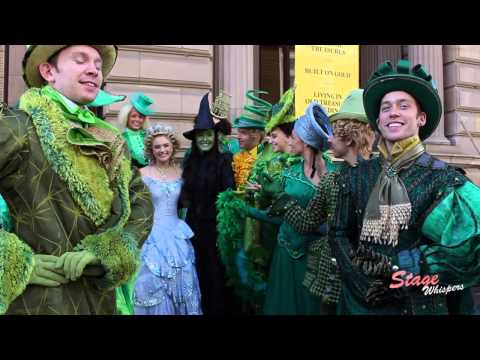 Wicked Melbourne cast introduction, 2013