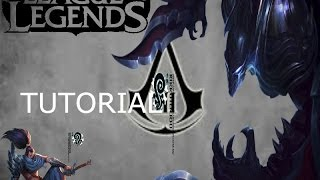 TuTorial - LEAGUE OF LEGENDS - HACK DE SKINS GRATIS !!!