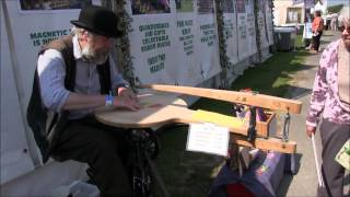 Erifilly Meets Amazing Pedally Steve Who Cut Her Name Out Of Wood Freehand