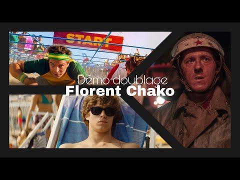 Vidéo Démo doublage 2020 Florent Chako