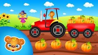 Traktor na polu bajka dla dzieci