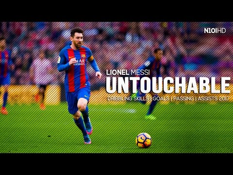 Messi ● The Untouchable - Genius Dribbling Skills | Passing | Assists & Goals 2017 HD