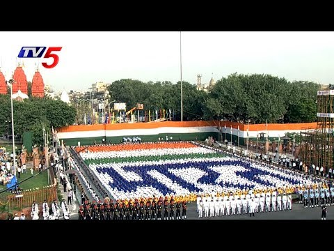 71st Independence Day Celebrations at Red Fort | New Delhi | TV5 News