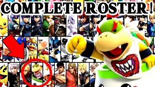 Super Smash Bros Ultimate | Bowser Jr UNLOCKED + Complete Roster!