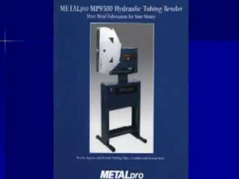 METALpro Hydraulic Tube Bender - Model# MP9500