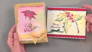 Fall Look 2017: New Watercolor Stamps - Paper Wishes Weekly Webisodes