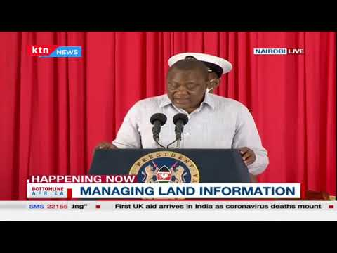 President Uhuru launches the National Land Information management system