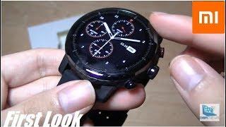 അൺബോക്സിംഗ്: Xiaomi Amazfit പേസ് ഒൻപത് (സ്ട്രാടോസ് Smartwatch)