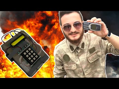 C4 PATLAYICI ile TELEFON PATLATTIK (NovaBusters)