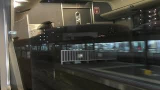 289系 特急くろしお30号 新大阪行き 天王寺駅から終点新大阪駅間