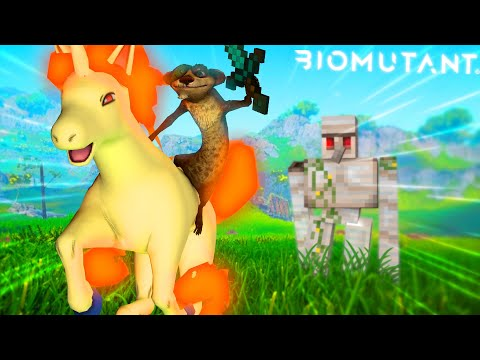 Biomutant but ruined by mods AGAIN |