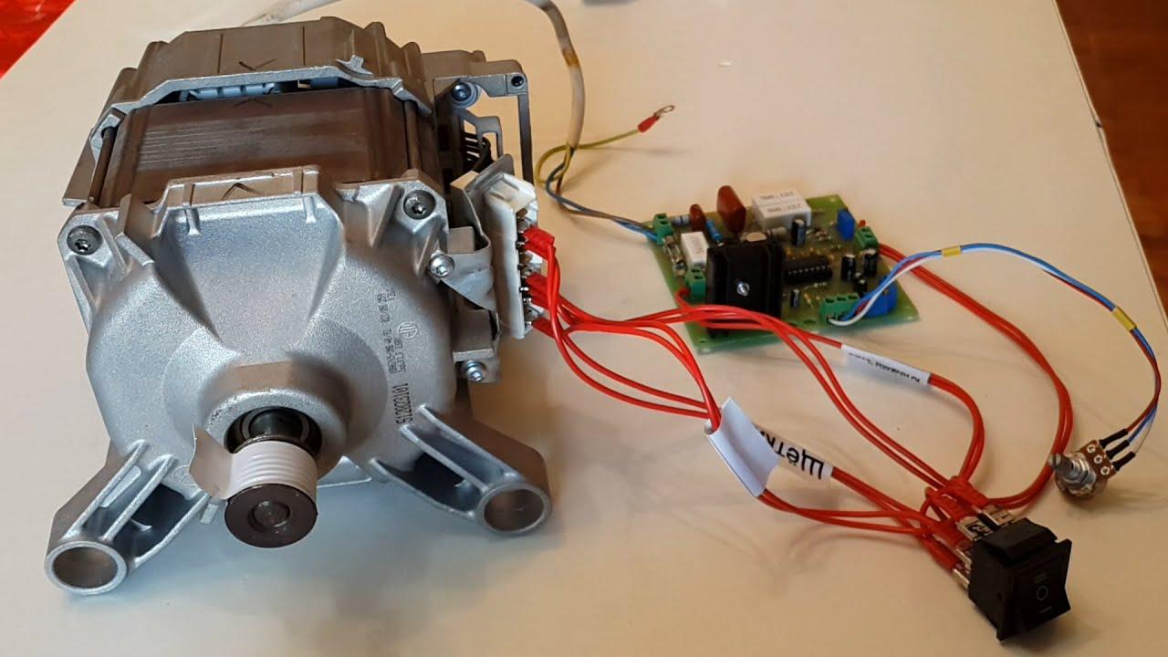 Регулятор оборотов двигателя от стиральной машины своими