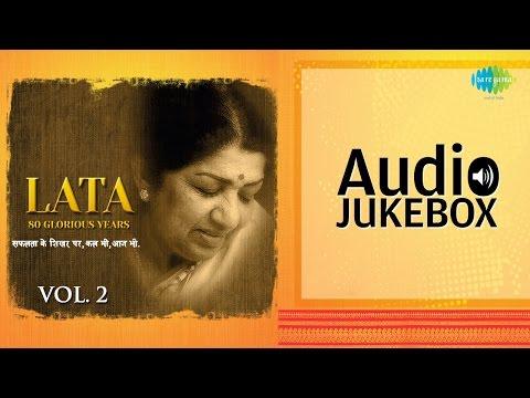 80 Years Of Lata Mangeshkar (Vol 2) | Top Old Hindi Lata Songs | Audio Jukebox