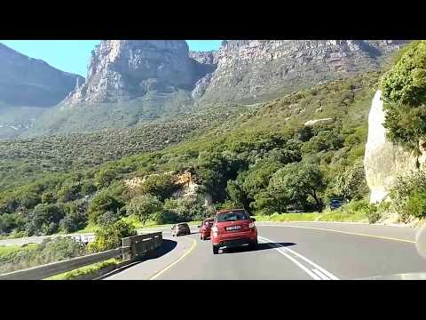 Cape town: Houtbay to green park road, sea side