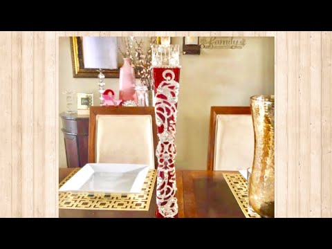DIY Crafts Ideas For Home Decoration: Dollar Tree Glam Candle Holder Creating Elegance For Less 2019
