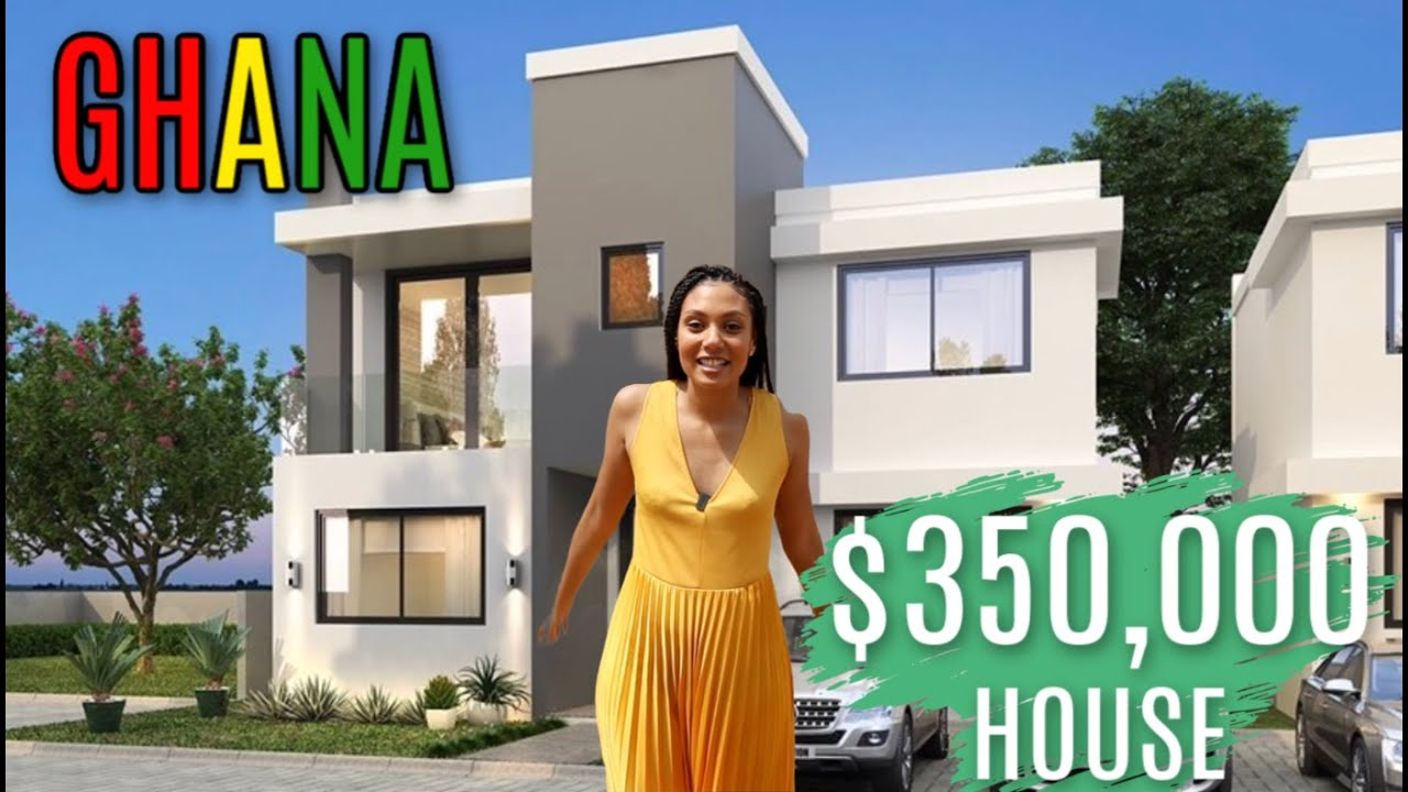 WHAT $350,000 GETS YOU IN GHANA   Building A House In ...