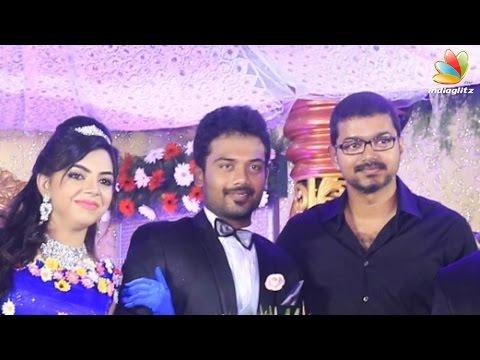 Vijay and More Celebrities at Pandiarajan Son Prithvi Wedding | Vishal, Ilayaraja, Vivek