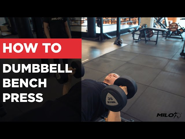 HOW TO | Hoe Zet Je Verschillende Elleboogposities In Bij De Dumbell Bench Press?