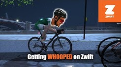 Getting Whooped on Zwift—With Post-Race Thoughts