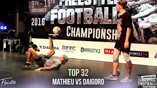 Mathieu Pierron v Daigoro - Top 32   EFFC 2016