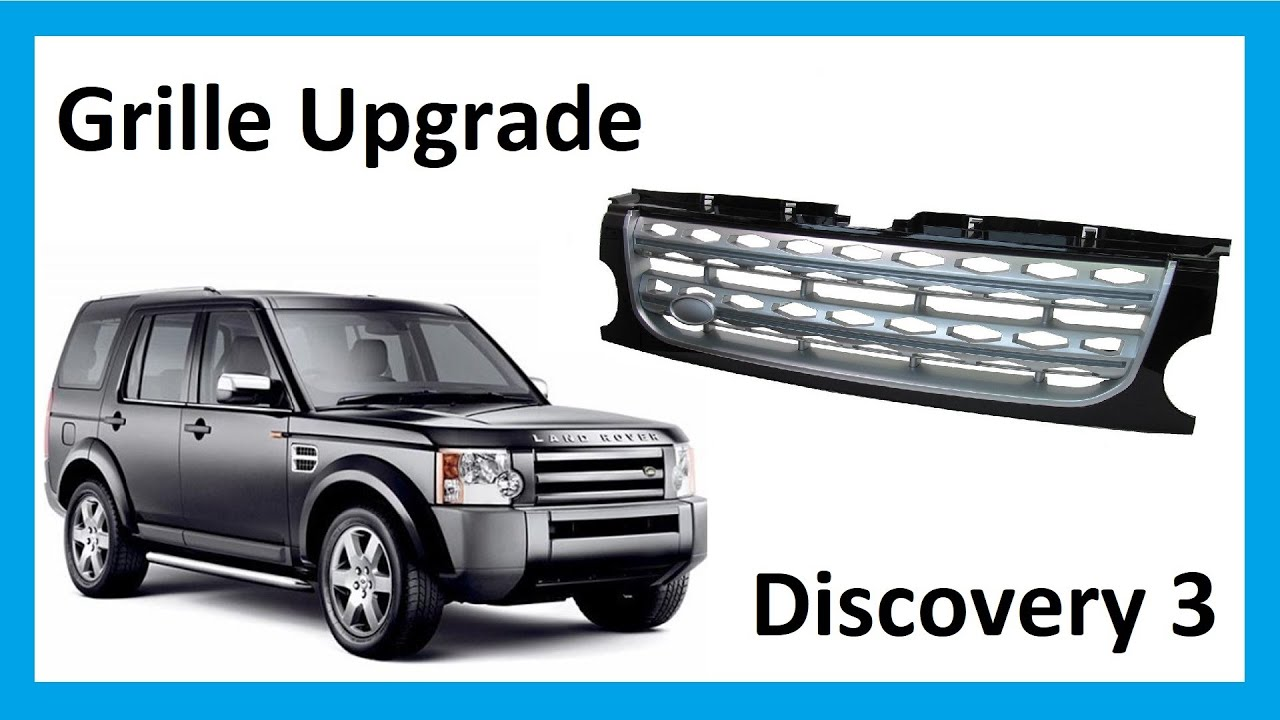 How To Fit Discovery 4 Lr4 Style Facelift Grille To
