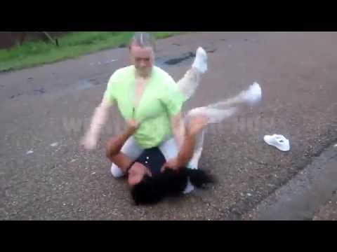 White girl fights black girl thumbnail