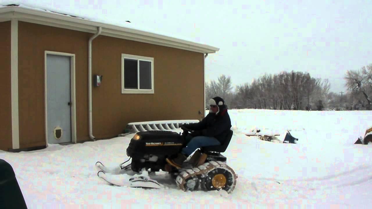 Half Track Garden Tractor