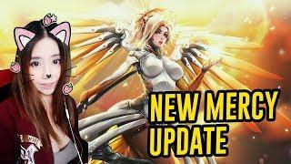 New mercy gameplay! - mercy new ability  - overwatch ptr