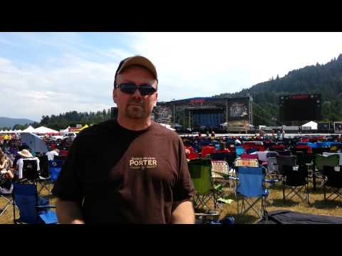Checking in from the Bimart Willamette Country Music Festival on Saturday
