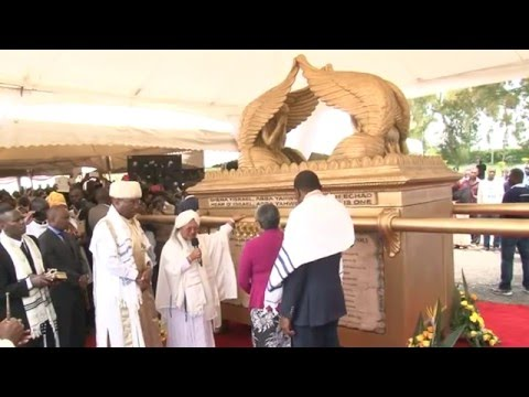 REPLICA OF THE ARK OF THE COVENANT IN KENYA 4
