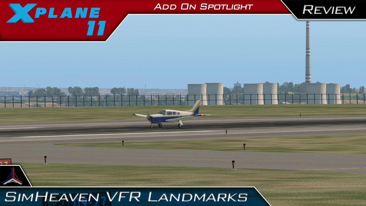 X Plane 11 | SimHeaven VFR Landmarks Scenery Freeware - Installation and  Review