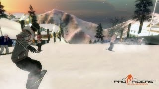 Pro Riders Snowboard - Gameplay Trailer