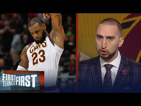 Nick Wright: LeBron James is playing better now than ever   FIRST THINGS FIRST
