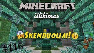 Minecraft 1.13 Išlikimas Lietuviškai #116 Skenduoliai!
