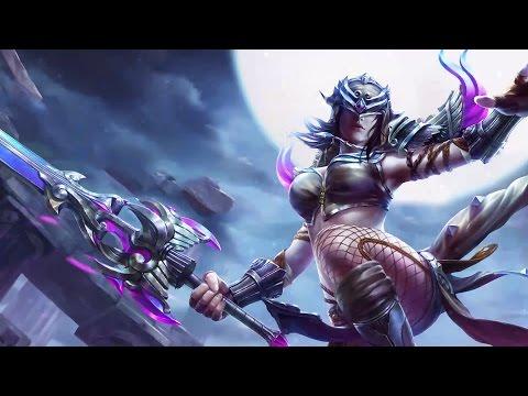 видео: smite [ru]    Обзор на богиню Немезида ( nemesis )