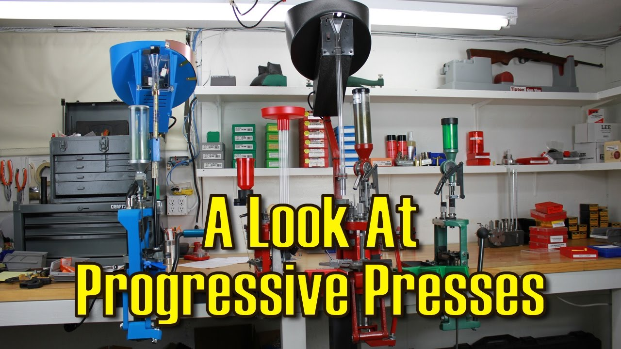 A Look At Progressive Presses