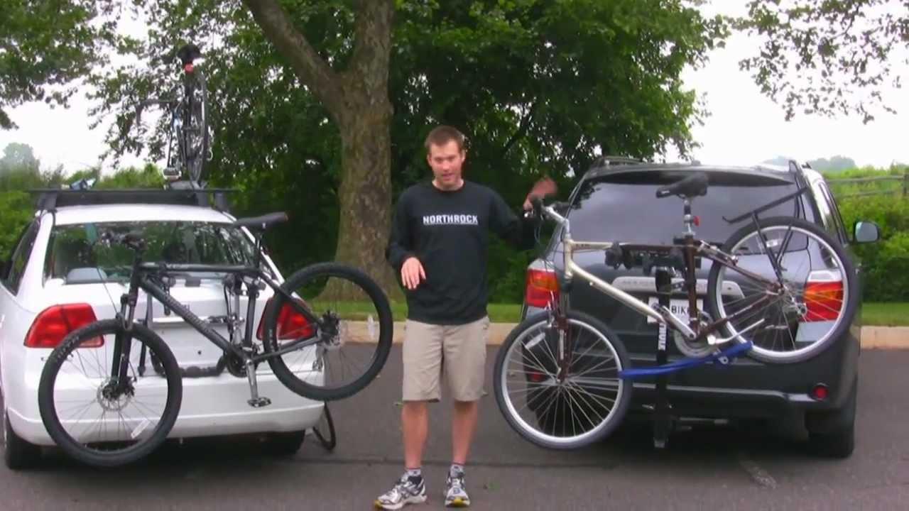 Car Trunk Bike Rack