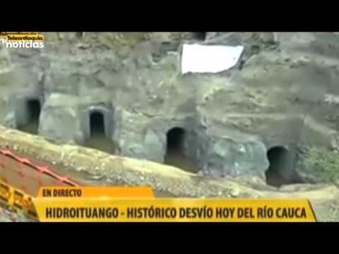 Histórico desvío del Río Cauca