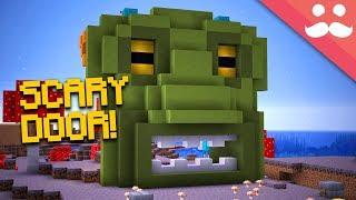 Making the SCARIEST PISTON DOOR in Minecraft 1.13!