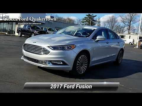 certified-2017-ford-fusion-se,-quakertown,-pa-20171381