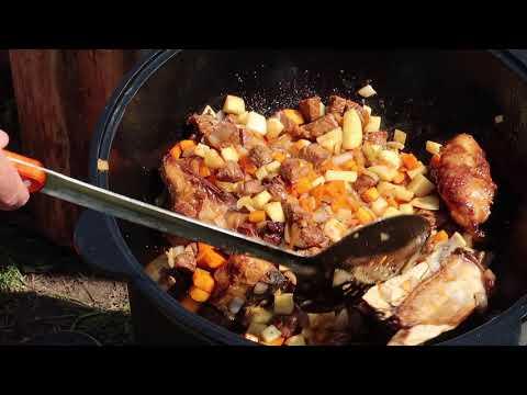 Как приготовить лагман из говядины в казане