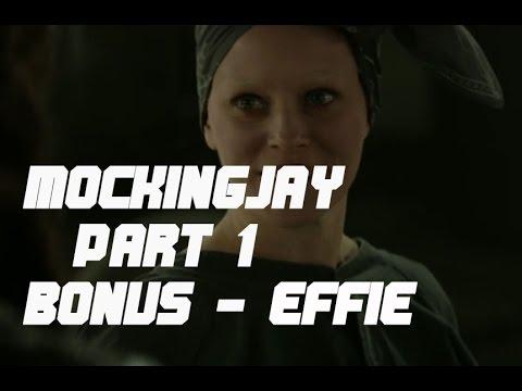 The Hunger Games Mockingjay Part 1 - Bonus - Effie Trinket / Elizabeth Banks