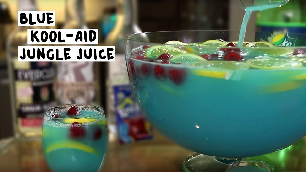 Blue Kool-Aid Jungle Juice