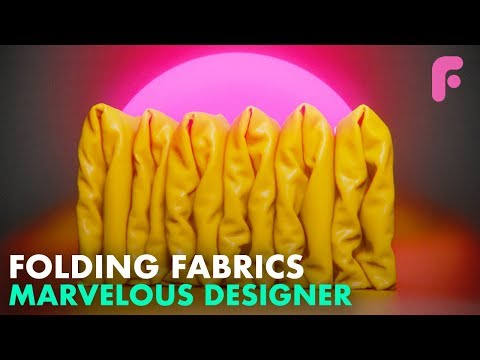 Folding In Marvelous Designer - Tidying Up With FlippedNormals