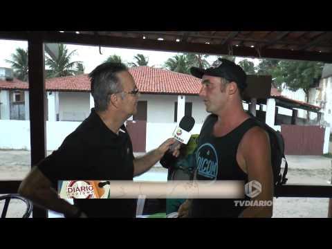 Barra Nova - Brazil - TV Diario - Interview Leleo Solitro - Part.2