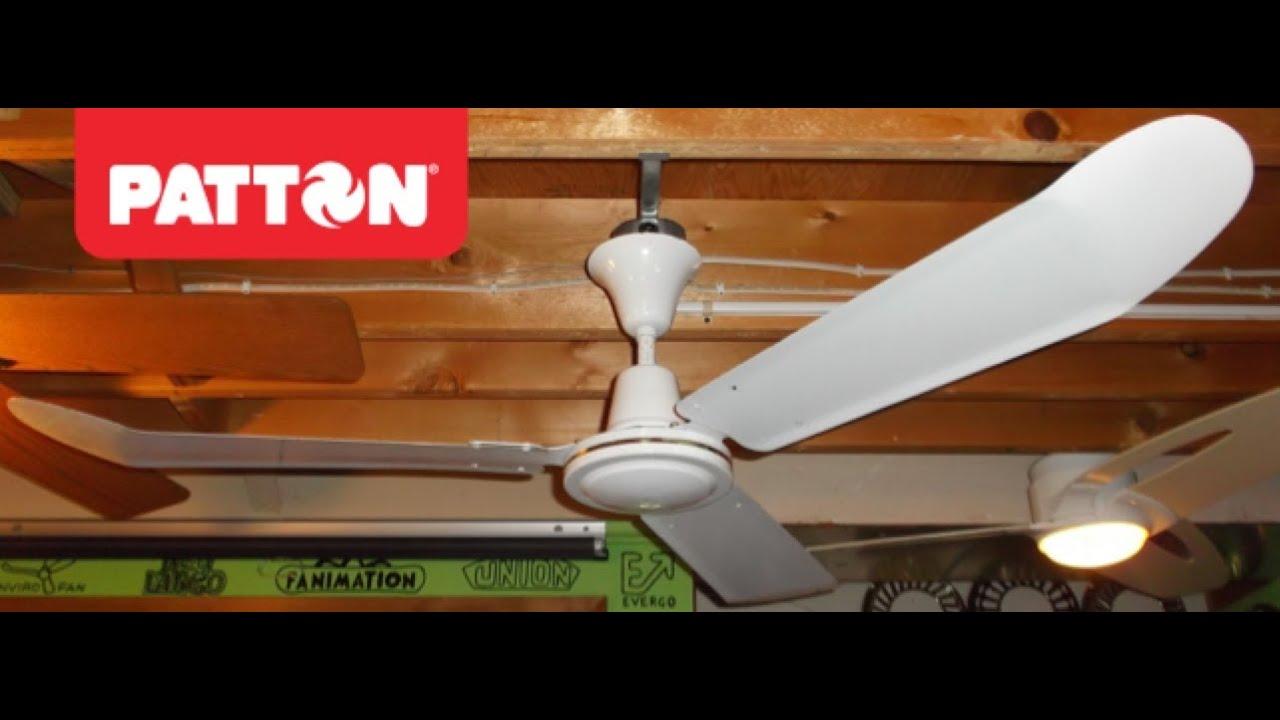 Patton Industrial Ceiling Fan Hd Remake Youtube
