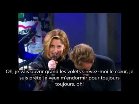 johnny hallyday et lara fabian requiem pour un fou paroles 1998