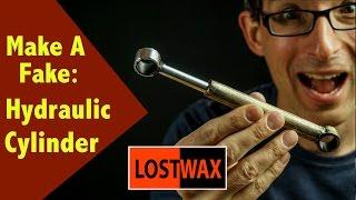 How To Make A Fake Hydraulic Piston. DIY Cosplay Steampunk Mechanical Arm