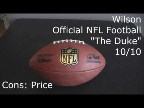 Football Review - Wilson Official NFL Football