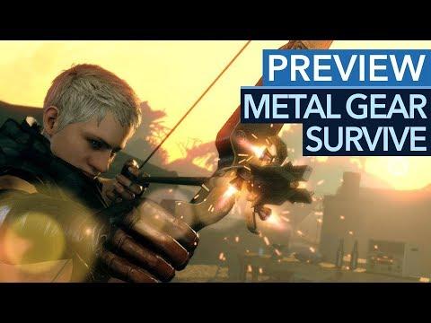 Wird Metal Gear Survive ein tolles Survival-Spiel? - Gameplay-Preview